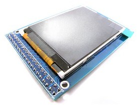 TFT01 2.4' touch LCD super library display