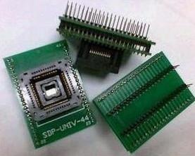 PLCC44 to DIP40 ? IC test socket Adattatore, Adattatore seat conversion seat (bounce)