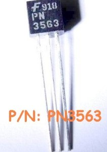 6 Pezzi PN3563 IC Circuiti Integrati