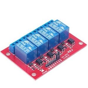 4 Canali 5V Relè Modulo per Arduino PIC ARM AVR DSP