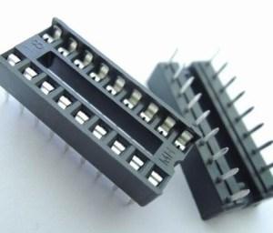 8 Pezzi 18P IC socket