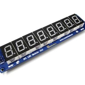 Modulo 8 caratteri 7 segmenti Display Digitale SPI LED (Arduino Compatibile)