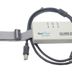 Ulink 2 USB JTAG Emulator ARM9 Cortex Ulink II GH2 White Adattatore Debug