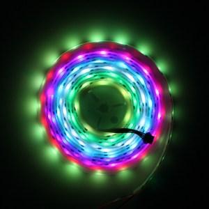 5V WS2801 5050 RGB LED Strip 32Leds/Meter 5Meter/Reel