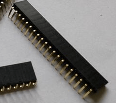 5 Pezzi 1*20P 2.54mm Bent Pin Header Femmina Connettore Plug