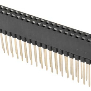 2*20p 2.54mm 12.2mm Header Pin Femmina
