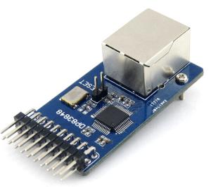 DP83848 Ethernet Board Modulo 10/100 Mb/s Ethernet Physical Layer Ricetrasmittente Control Interfaccia Web Server Modulo