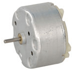 6 Volt DC Motore - 2100 RPM: Nichio Taiwan Corp., RF-500TB-12560-R