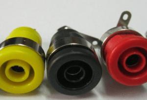 High-grade copper 4mm / Socket 4mm / High-current Amplificatore Stereo jack socket terminal