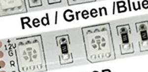 5050 Green SMD 12V 60Leds/Meter IP65 Impermeabile 5M/Reel , Price For 5M/Reel