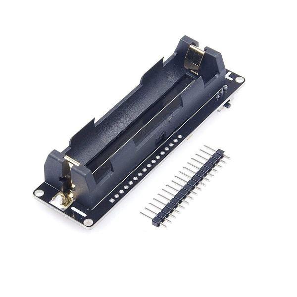 WeMos D1 Mini Modulo WiFi ESP WROOM 02 Scheda madre integrata ESP8266 e 18650 Slot per batteria compatibile con NodeMCU