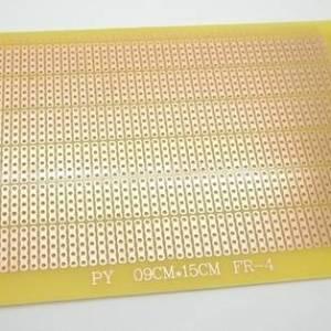 9 * 15CM 1.2T Fibra d'onda Epossidica Cinque fori collegati alla scheda universale