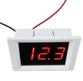 Voltmetro di allarme digitale DC Alta e bassa tensione Linea di allarme superiore e inferiore 2 gamma 4,5-40 V XH-B115