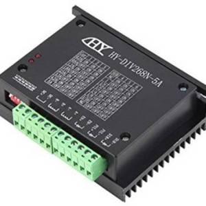 Driver per motori passo-passo HY-DIV268N-5A, 12-45V, ibrido monofase a due assi