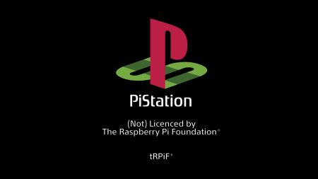 Raspberry PiStation Custom Boot Screen