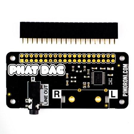 Pimoroni's pHAT DAC