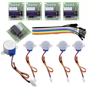 raspberryitalia elegoo 5 set 28byj 48 uln2003 5v motore passo passo stepper uln2003 scheda