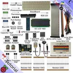 raspberryitalia freenove super starter kit for raspberry pi model 3b 3b 3a 2b 1b 1a zero