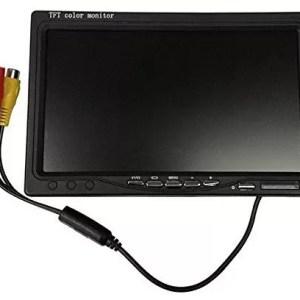 raspberryitalia monitor lcd 7 pollici tft con telecomando per auto macchina casa camper tvcc