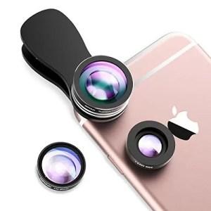 raspberryitalia mpow obiettivi smartphone clip on 3 in 1 lente fisheye lente fisheye 180