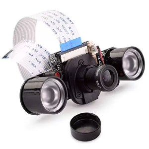 raspberryitalia quimat camera for raspberry pi ir cut 5mp ov5647 sensor adjustable focus