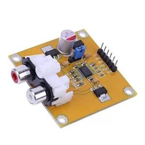 raspberryitalia sharplace pcm5102 decoder dac assemblato lettore i2s 32bit 384k oltre es9023