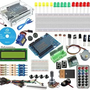 raspberryitalia sintron arduino uno r3 board starter kit with pdf files tutorial cd in