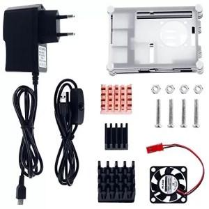 raspberryitalia zacro 5 in 1 kit accessori per raspberry pi 3 2 cavo adattatore usb cavo 1