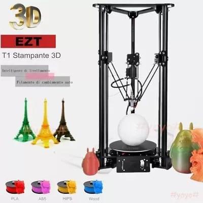 DIY Kit 3D Printer Delta EZT-T1 stampante 3D per Kossel lineare Delta PLA ABS @X