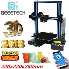 NUOVO Geeetech A10 APP Stampante 3D Printer Kit Prusa I3 Alta Precisione 180mm/s
