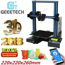 NUOVO Geeetech A10 APP Stampante 3D Printer Kit Prusa I3 Alta Precisione 180mm/s