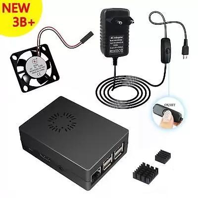 Per Raspberry Pi 3 3 Model B+ plus kit, 5V 3A Alimentatore Caricabatterie (y1U)