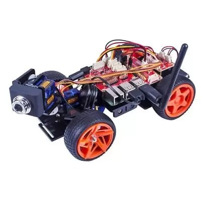 Remote Control Robot Kit For Raspberry Pi 3 Smart Video Car Kit V2.0 RC Robot Ap