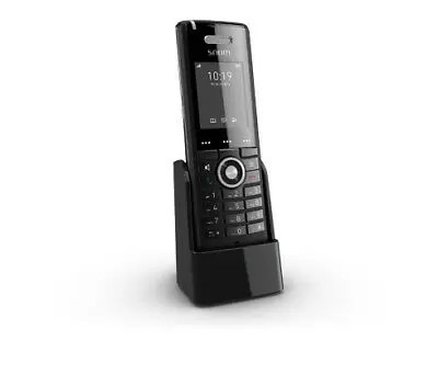 """Snom 3969 M65 Caller ID Black - Voip Phone - DECT 300m Max - 2"""" TFT (176 x 220)"""