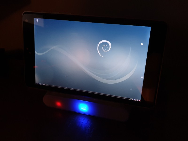 Ntablet default debian desktop