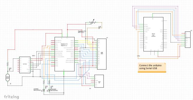 smart bike fritzing diagram