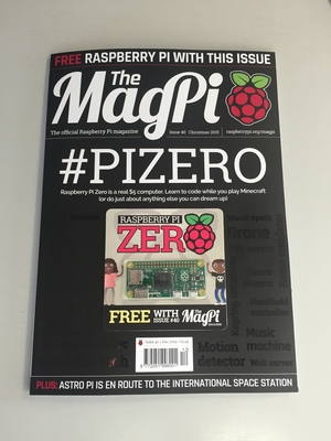 MagPi #40 in all its glory