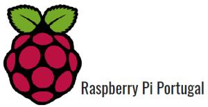 logotipo raspberry pi portuga