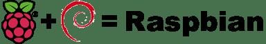 Il Logo del progetto Raspbian