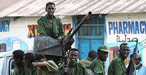 US backed Ethiopian forces