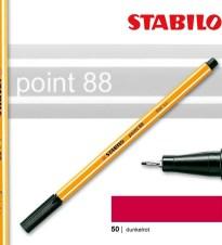 OLOVKA LINER STABILO POINT 88/50 BORDO