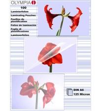 FOLIJA ZA LAMINATOR 125MIC A6/100 OLYMPIA