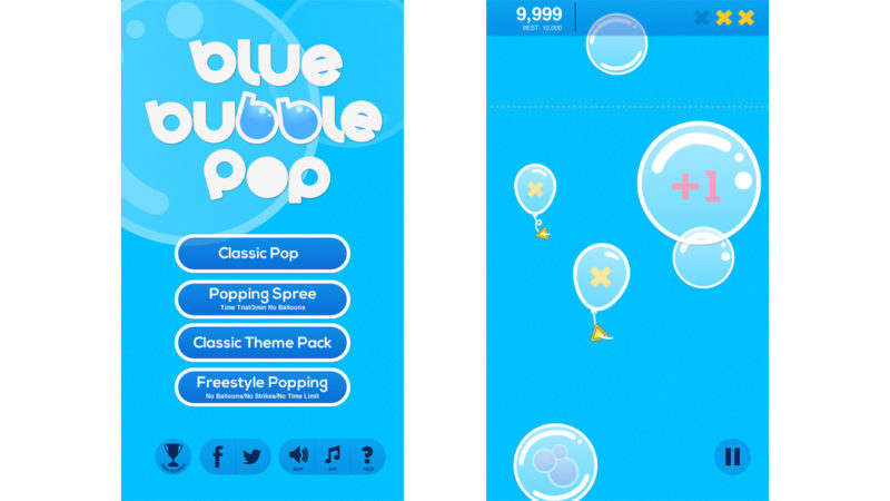 Mobile app - game for kids