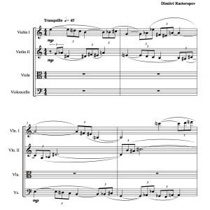 Piece for string quartet_1
