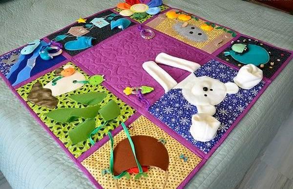 让一个发展地毯做了自己