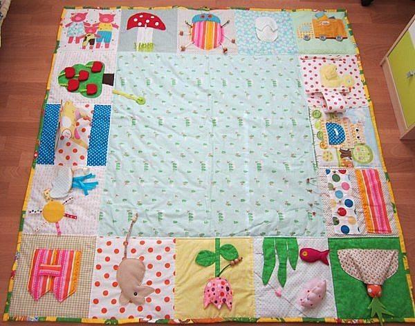 缝制一个发展地毯自己做到这一点