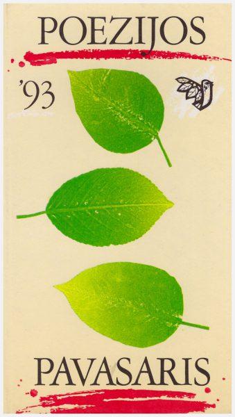 almanacho viršelis 1993