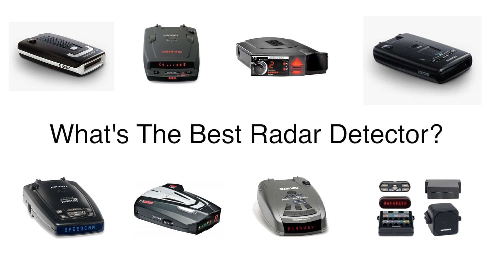 What Is The Best Radar Detector For 2019