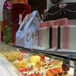 Caffe Concerto Cake Display