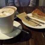 Sawmill Honey Cake and Coffee